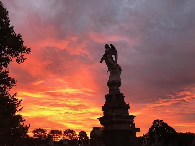 angel-sunset